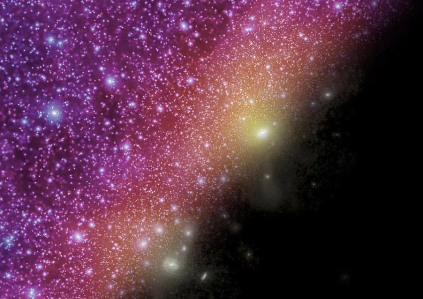 «Космический автогол» - еще один ключ в охоте за темной материей