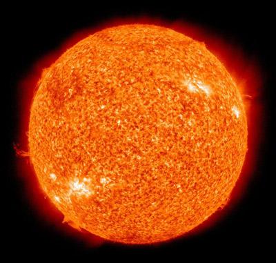 Изображение Солнца, сделанное Обсерваторией солнечной динамики NASA