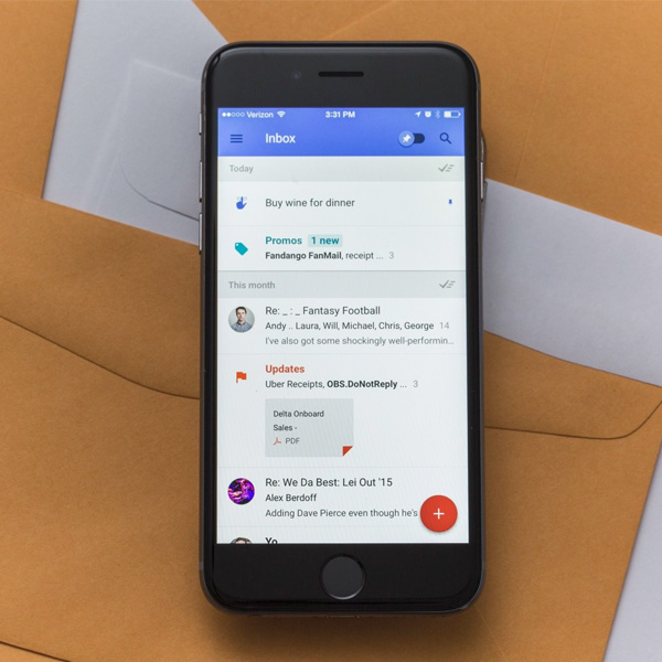 google,gmail,inbox,ПО, Google представил альтернативу Gmail – сервис Inbox