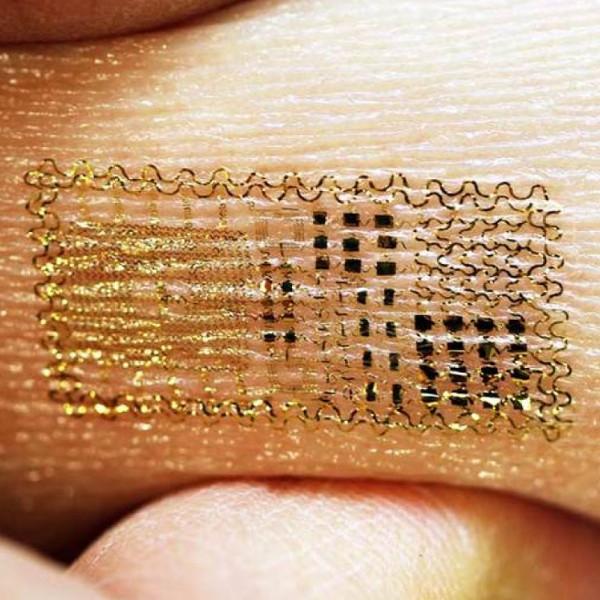 чип, тату, здоровье, Новый стандарт носимой электроники — временные татуировки