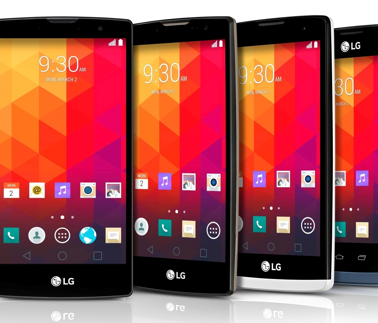 LG, Android, смартфон, LG Magna vs LG Spirit