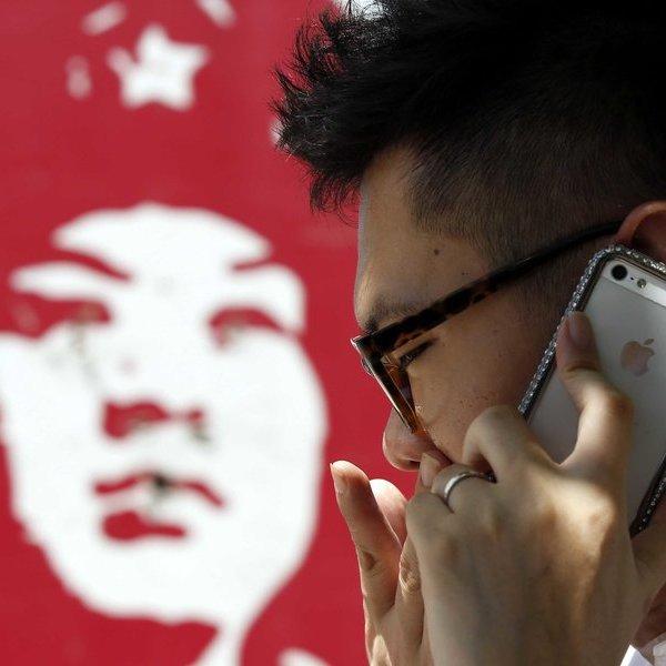 Apple, iPhone, iPad, iOS, iPad Pro, MacBook, iPod, OS X, ноутбук, планшет, смартфон, плеер, «Яблочный» ажиотаж: ночёвки у дверей и поддельные магазины Apple в Китае