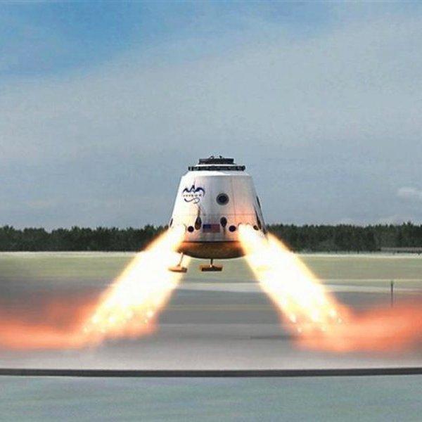 NASA, SpaceX, МКС, космос, планета, исследование, астрономия, SpaceX SuperDraco: новые ракетные двигатели помогут астронавтам безопасно приземлится в случае внештатной ситуации