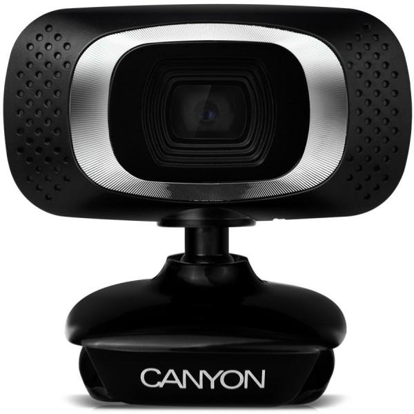 Фото, камера, видео, сэлфи, соцсети, Canyon CNE-CWC3: доступная веб-камера Full HD