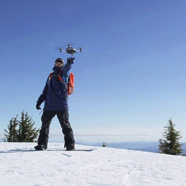 Беспилотник, дрон, квадрокоптер, идея, концепт, дизайн, видео, соцсети, спорт, камера, робот, роботы, Lily Camera Drone: стартап собрал $34 млн на выпуск летающего селфи-дрона