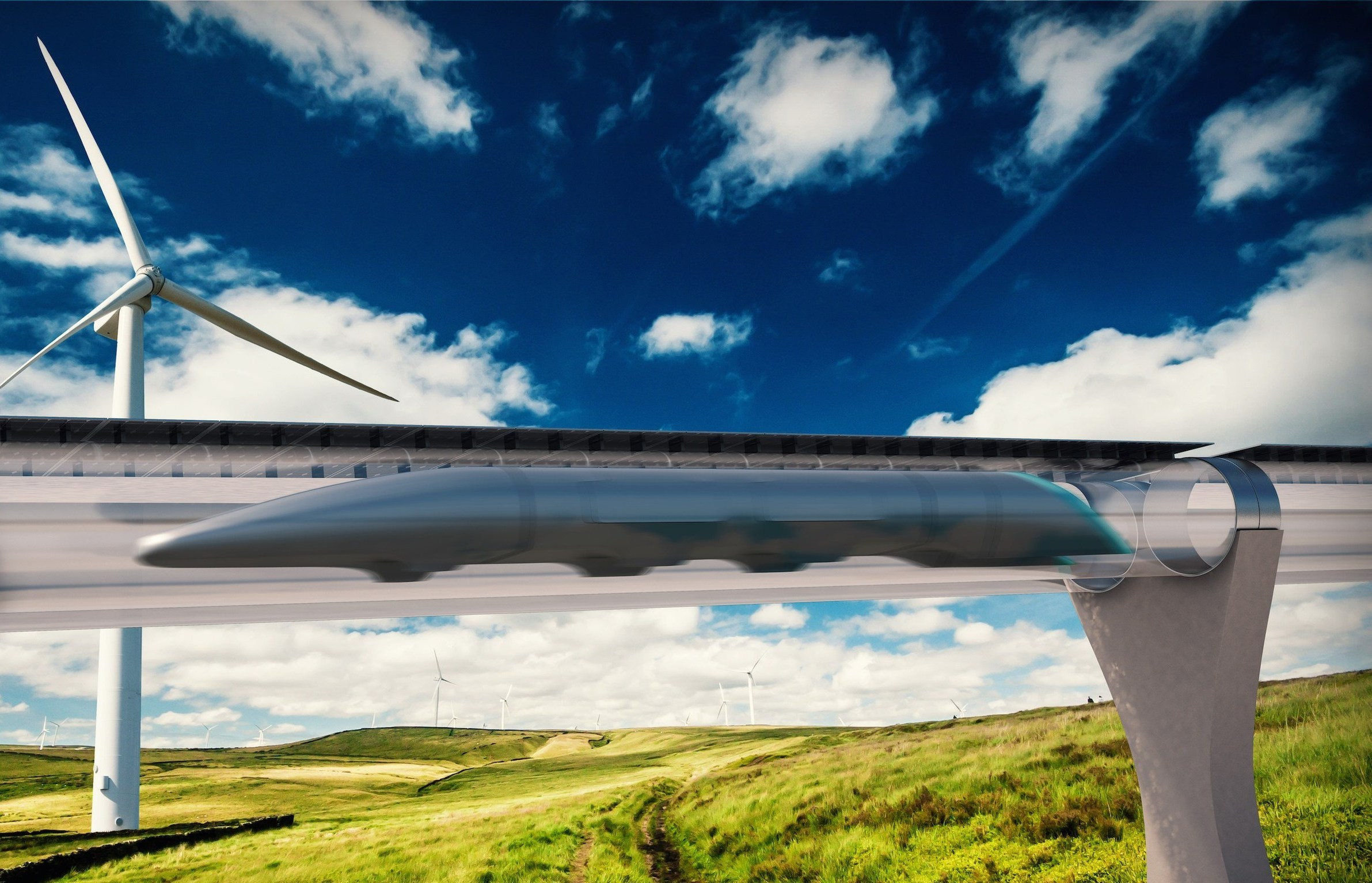 Перспективы развития вакуумной транспортной системы Hyperloop