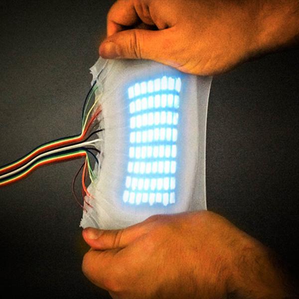 Идея, дизайн, концепт, здоровье, организм человека, медицина, киборг, робот, роботы, дрон, Electroluminescent Synthetic Skin: эластичный материал, который поможет роботам проявлять эмоции