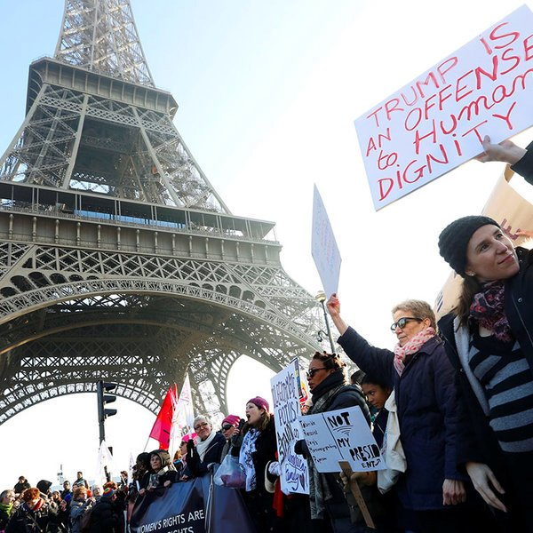 общество, фото, соцсети, Фоторепортаж: 8 марта по всему миру прошли женские марши