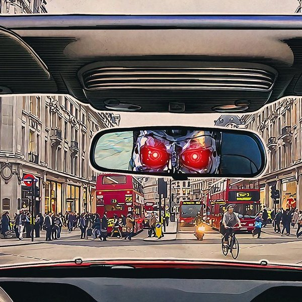 автомобили, дрон, беспилотник, История развития беспилотных автомобилей