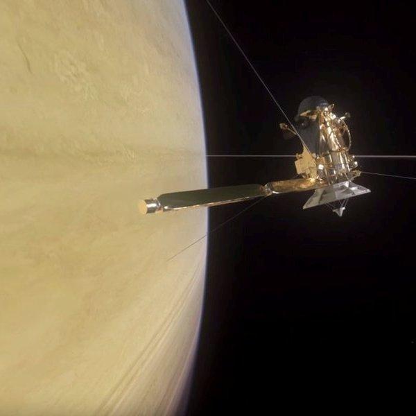 NASA,космос,планета, Красиво жил, красиво кончил: автоматическая станция «Кассини-Гюйгенс» сгорит в атмосфере Сатурна