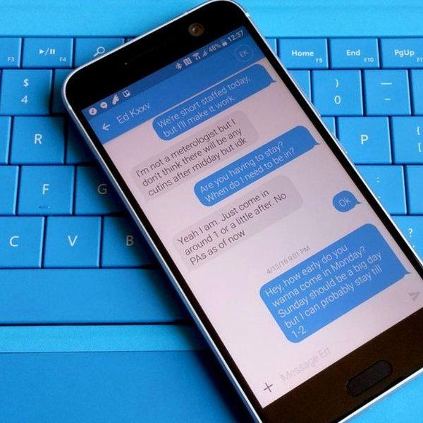 мессенджер, соцсети, Веб-версия приложения Android Messages от Google